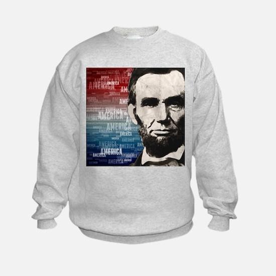 Patriot Abraham Lincoln Sweatshirt