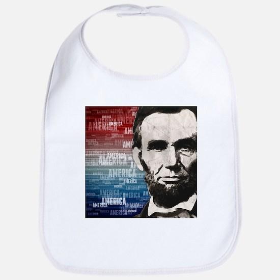 Patriot Abraham Lincoln Bib