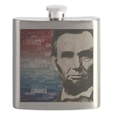 Patriot Abraham Lincoln Flask