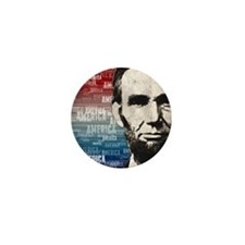 Patriot Abraham Lincoln Mini Button