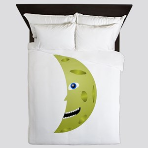 Man on the moon Queen Duvet