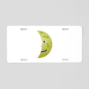 Man on the moon Aluminum License Plate