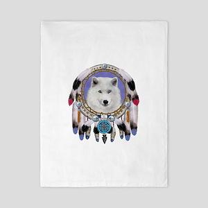 Native American Wolf Spirit Twin Duvet