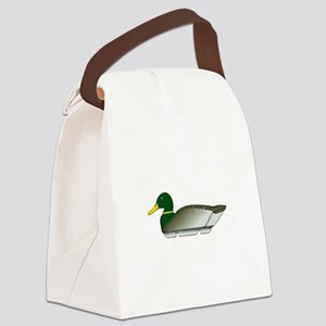 Duck Decoy Side View Canvas Lunch Bag