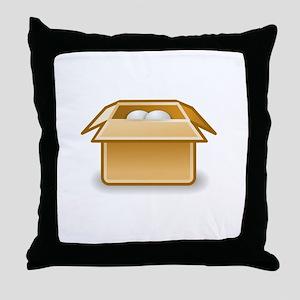 Tango package x generic Throw Pillow