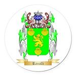 Ranalli Round Car Magnet