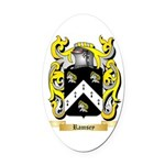 Ramsey Oval Car Magnet