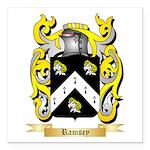 Ramsey Square Car Magnet 3