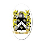 Ramsey 20x12 Oval Wall Decal