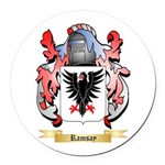 Ramsay Round Car Magnet