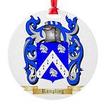 Rampling Round Ornament