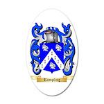 Rampling 35x21 Oval Wall Decal