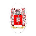 Ramos Oval Car Magnet