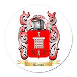 Ramos Round Car Magnet