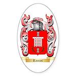 Ramos Sticker (Oval 10 pk)