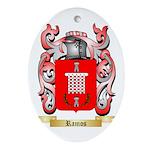 Ramos Oval Ornament