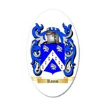 Ramm 35x21 Oval Wall Decal