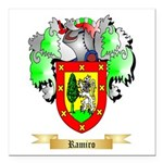 Ramiro Square Car Magnet 3