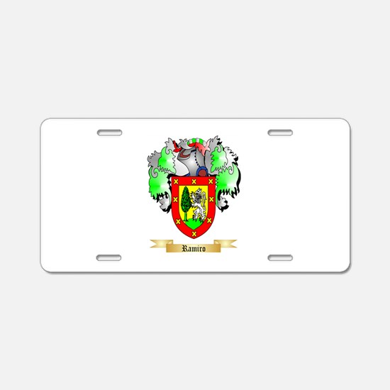 Ramiro Aluminum License Plate