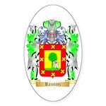 Ramirez Sticker (Oval)