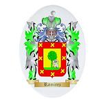Ramirez Oval Ornament