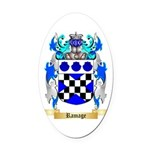 Ramage Oval Car Magnet