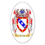 Ralph Sticker (Oval 10 pk)