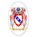 Ralph Sticker (Oval 50 pk)