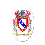 Ralph 35x21 Oval Wall Decal