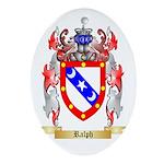 Ralph Oval Ornament