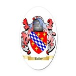 Ralley Oval Car Magnet