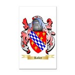 Ralley Rectangle Car Magnet