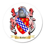 Ralley Round Car Magnet