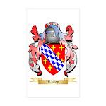 Ralley Sticker (Rectangle 50 pk)