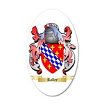 Ralley 20x12 Oval Wall Decal