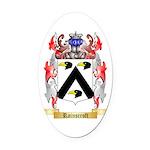 Rainscroft Oval Car Magnet