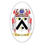 Rainscroft Sticker (Oval 10 pk)