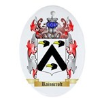 Rainscroft Oval Ornament