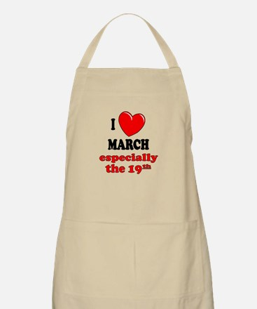 March 19th BBQ Apron