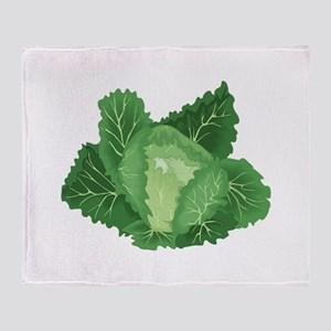 Cabbage Throw Blanket