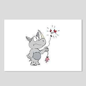 Rhino Pop Postcards (Package of 8)