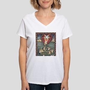 Ancient Mermaid Messengers Women's V-Neck T-Shirt