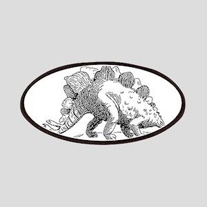 Dinosaur stegosaurus Patch