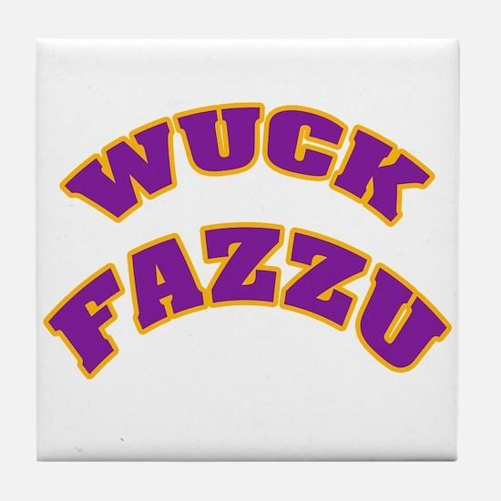 WUCK FAZZU Tile Coaster