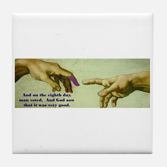 Freedom is a Divine Gift Tile Coaster