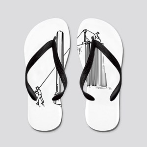 Optical illusion Flip Flops