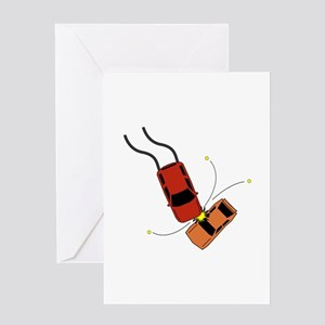 Car Accident Greeting Cards