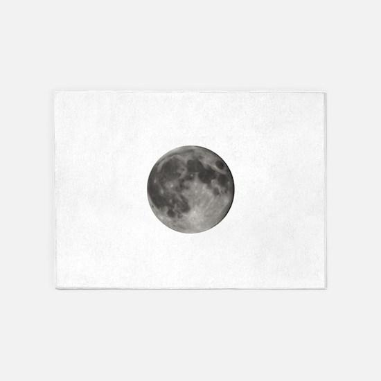 Full Moon 5'x7'Area Rug