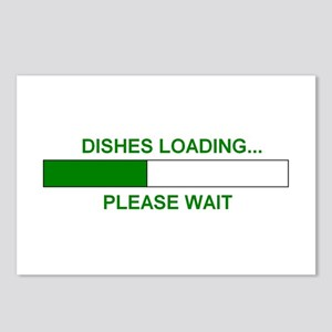 DISHES LOADING... Postcards (Package of 8)