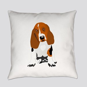 Bassett hound Everyday Pillow